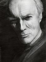 Clint Eastwood by d1sarmon1a