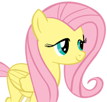 Fluttershy Face by DethPotato