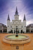 St. Louis Cathedral by ashamandour