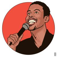 Chris Rock by monsteroftheid