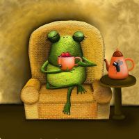 relaxing tea by rozalek