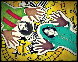 Levi and Eren: Matryoshka by MarionetteArts