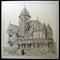 Carson Mansion by Revelation-Six