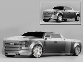 Ford Super Chief Concept by caingoe