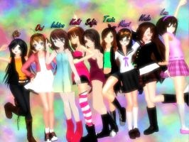 MMD- Os echo demenos by TaniaVocaloid