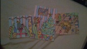 Crappy Christmas Cards by Mina42