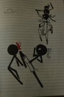 Muay Thai StickFigure by PhoenixBurnz