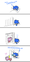 One day in sonic's life by Faezza
