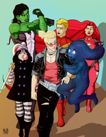 A-Force Print by ConstantM0tion