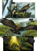 ARAWN issue 5, new preview by sebastien-grenier