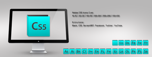 Adobe CS5 Icons Cyan by m-trax