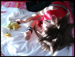 Sora Cosplay - Fast Asleep by Taymeho