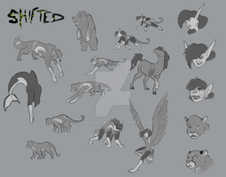 Shifted: Character Morphs by Doodlee-a