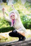 Super Sonico - Bunny Sweater by flockenschnitte