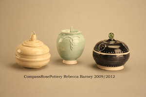 Sugar Jars by CompassRosePottery