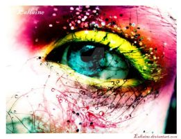 Glittering Eye by Ealiaine