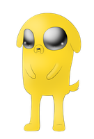jake the dog by OXxDarkStarxXO