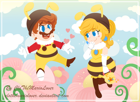 .:Remake: Bees!:. by CloTheMarioLover