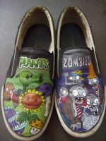 Plants vs Zombies kicks.. by micllave