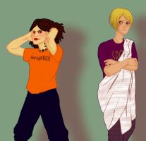 Drew and Octavian by Miagola