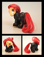 Black Widow Pony by EatToast