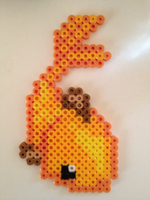 Goldfish Perler Beads by ArcticBunnies