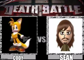 Cody Vs Sean by CodyTheFastestFox