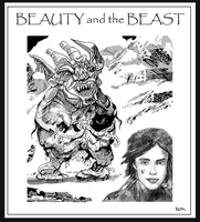 BEAUTY AND THE BEAST by NCMALLORY