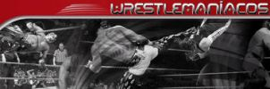 Banner WrestleManiacos by johnnymarques