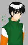 OMG ROCK LEE? by xEmoCupcakesx