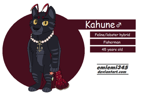 Kahune [Reference Sheet WIP] by emiemi345