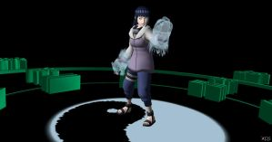 Hinata fight Pose by Mister-Valentine