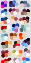 Random Color Palettes 4 by LifeError