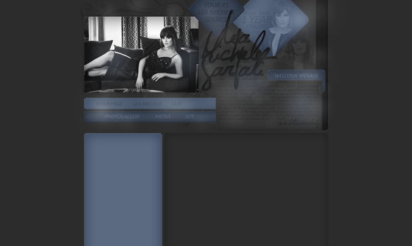 Layout: Lea Michele by iseayoubeach