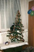 Christmas tree... by Woolfred