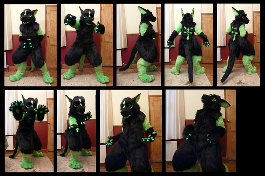 Ryyu Dragon Fursuit by CuriousCreatures