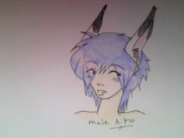 Male Aiko by Caryin