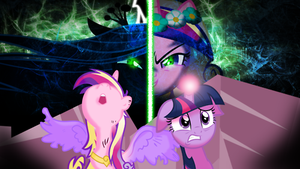 Twilight,Cadance and Chrysalis by MiAmoreCadence