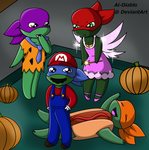 Ready For Trick or Treating by Ai-Diablo