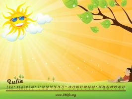 34Life Calendar for July 2011 by Zamolxes