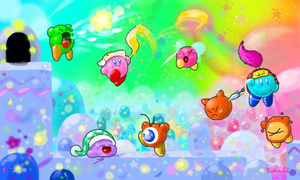 Kirby Colors3D 1 by Kokorokeke