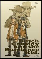 Butch and Sundance... by stayte-of-the-art