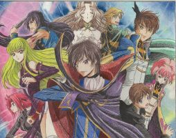 Code Geass group picture by TheGreatMillz33