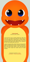 Happy Charmander -- Journal Skin by starrily
