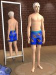 Sims 2- Fry Bathing Suit by Officer-1BDI