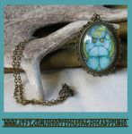 Egyptian God Khepri Scarab Pendant by ImogenSmid