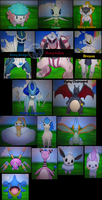 Pokemon XY - Shinys and Shiny Legends (for trade!) by Sapphiresenthiss
