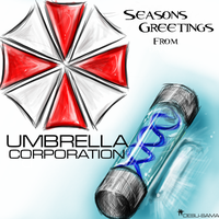 Season Greeting UMBRELLA CORP. by Desu-sama