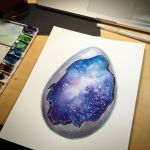 Geode egg by amyjiao