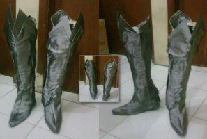 How to make Thranduil's boots part two by seawaterwitch